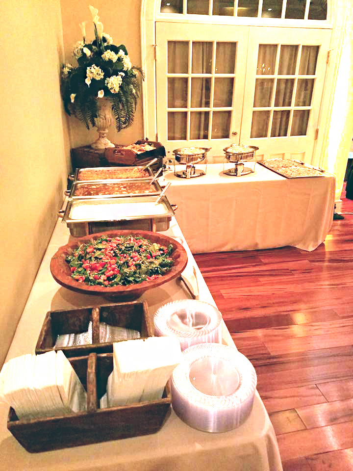 formal catering event