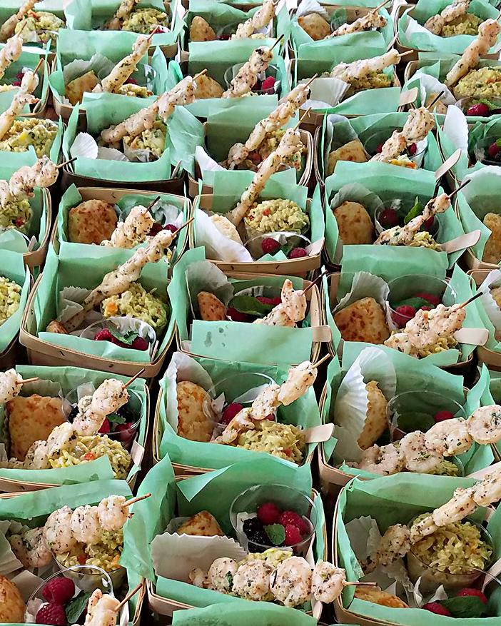 shrimp kabob baskets