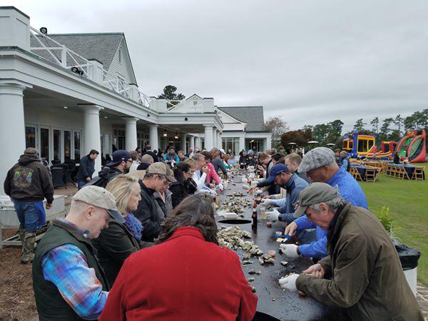 Daniel Island Club Oyster Roast