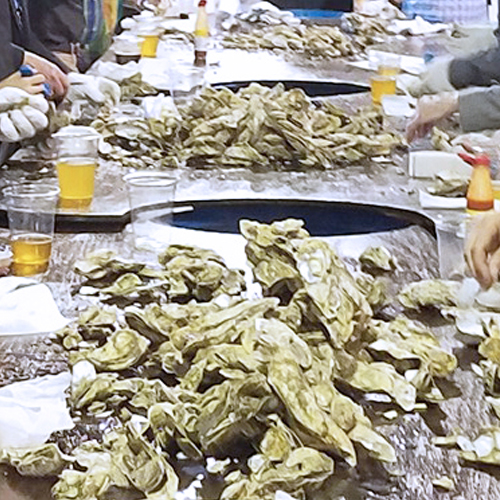 fundraising oyster roast in Charleston SC